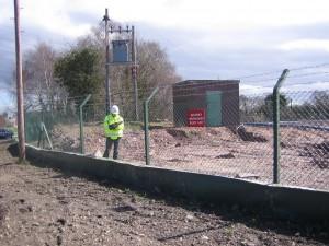 Hafod newt fence