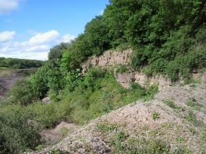 Quarry cliff